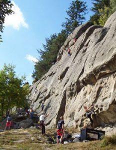 Czech Rock Climbing
