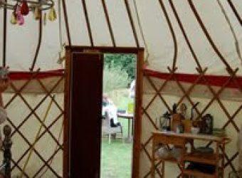 An Extravagant Tent: A Yurt