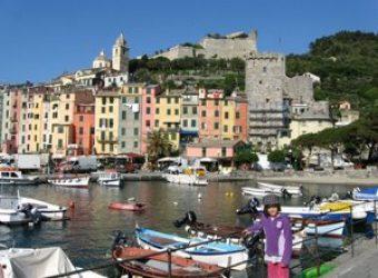Alexandra Regan visits kid-friendly Portovenere, Italy