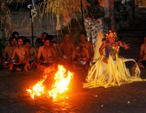 The fire-dance in Bali.