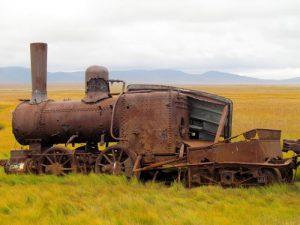 Last train to nowhere in Alaska.