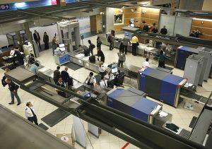 Airport screening in Canada