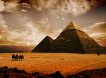 The pyramids in Egypt have never been less crowded.