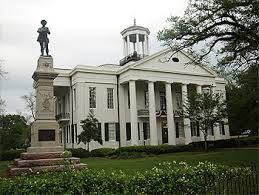 The Courthouse at Vicksburg, MS.