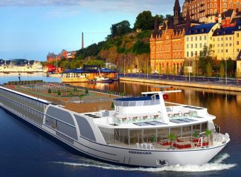 The Amamagna will be launched by AMA Waterways in 2019, the widest and largest river ship ever built.