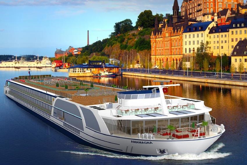 AmaMagna, The Biggest River Ship Yet, to be Launched by AMA in 2019