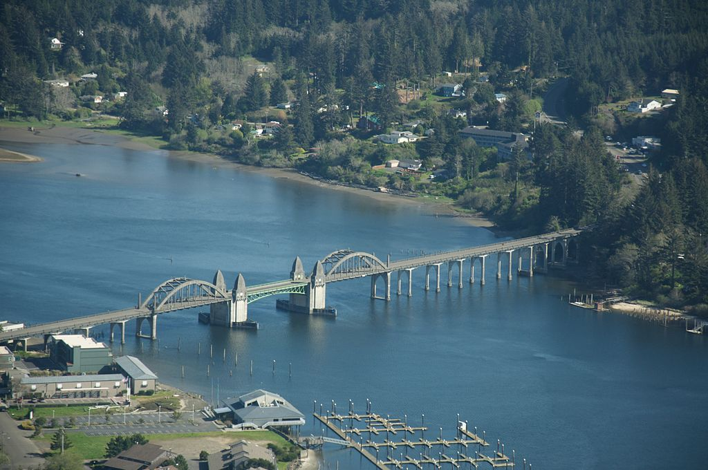 Florence Oregon, one stop on a great road trip from Seattle to San Francisco.
