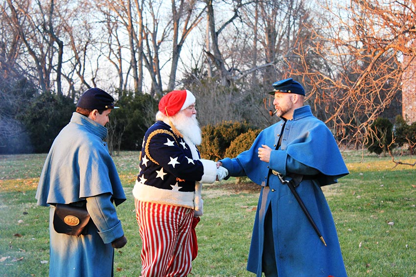 Civil War Holiday Events Across the US