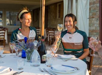 Chef bikers enjoy a break in Sicily