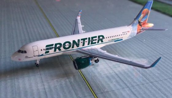 Frontier Airline's A320Neo jets, they just placed a massive new order for many more.
