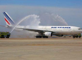 Air France Airbus jet