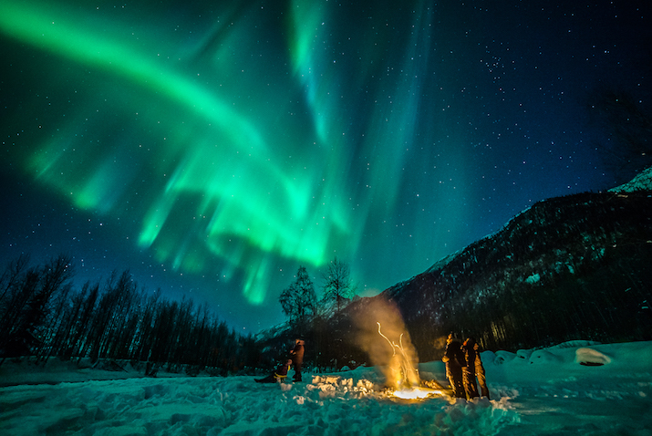 Anchorage's Northern Lights Await You