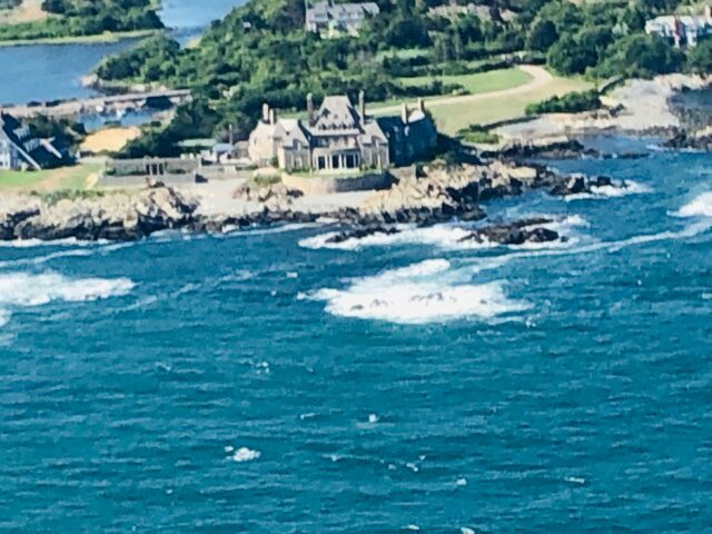 Jay Leno's mansion in Newport RI.